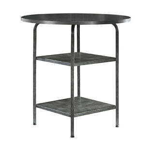 BRAND NEW ASHLEY FURNITURE PUB DINING TABLE GRAY