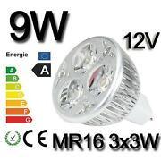 LED GU10 9W