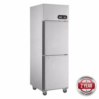 F.E.D SUF600 TROPICAL Thermaster 2 door SS Freezer Commercial Ref