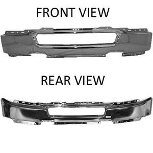 NEW 2009-2014 FORD F150 CHROME FRONT BUMPERS London Ontario image 3