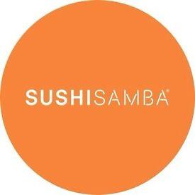 SENIOR SOMMELIER - IMMEDIATE START - SUSHISAMBA LONDON, LIVERPOOL STREET