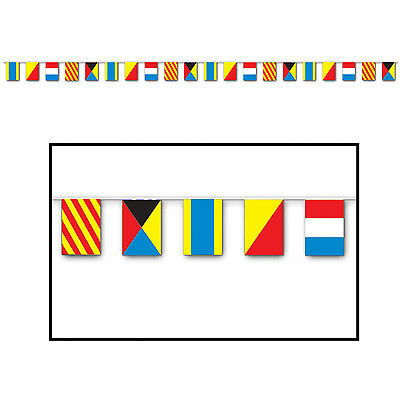 Nautical Flag Banner Party Accessory