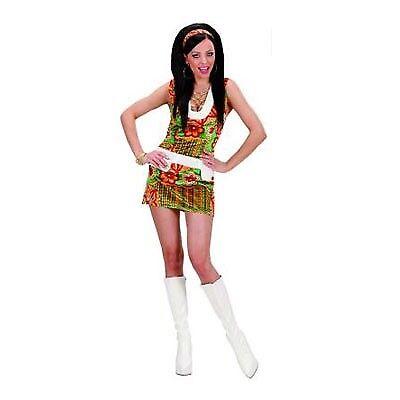 Kostüm Karneval Fasching Hippie 60er M Frau Neu