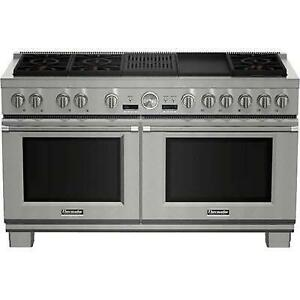 60-inch Freestanding Dual-Fuel Range with Star Burners