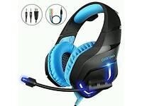 Microphone gaming headphones/ headset