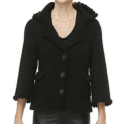Chanel NEW Cashmere Mohair Cardigan Jacket