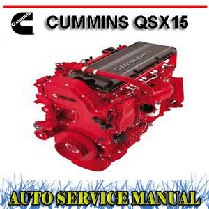 cummins isx service manual free download