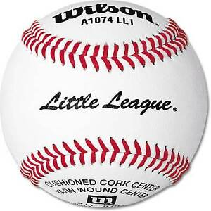 Baseballs For Sale >> Wilson A1074 Official Little League Baseballs For Sale Online Ebay