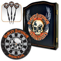 The Billiard Studio Presents: NEW - Harley-Davidson Dart Set