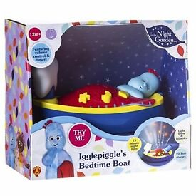 In the Night Garden Igglepiggle's Bedtime Boat (new, night light)