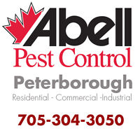 Guaranteed Pest Control Services for Peterborough/705-304-3050