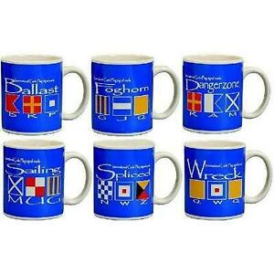 Coffee Cup W / Coded Flags