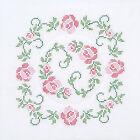 Quilt Block White Cross Stitch Fabrics