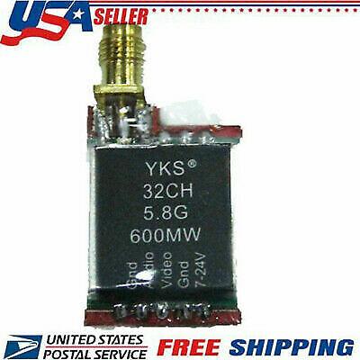 TS5828 5.8Ghz TX600/MW/2W Long Range FPV AV Video 32 Channel