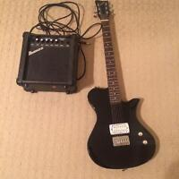 First act electric guitar with amp