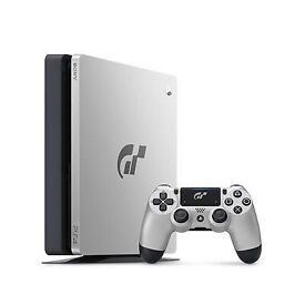 PS4 limited edition grand turismo 1tb console