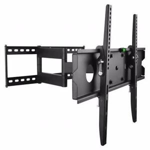 FULL MOTION TV WALL MOUNT BRACKET PROTECH FL-504 FOR 40 INCH -65 INCH TV  BRACKET HOLD 50KG/110Lb