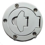 Chrome Motorcycle Gas Cap
