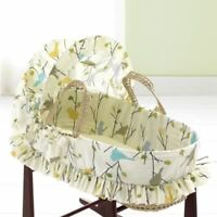 Jolly Jumper canopy Moses basket and rocking stand