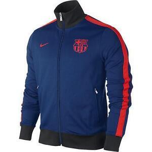 barcelona jacket soccer international clubs ebay. Black Bedroom Furniture Sets. Home Design Ideas