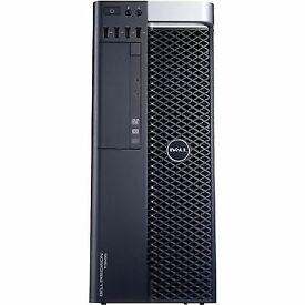 Dell Precision T5600 High End PC - Xeon E5 3.3Ghz - 8GB - 500GB - ATI Firepro 2GB *1Yr Warranty*