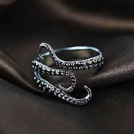 Bikers gothic ring