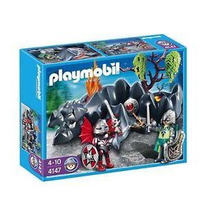 Playmobil 4147 Dragon Rock Compact Set with Knights Strathcona County Edmonton Area image 1