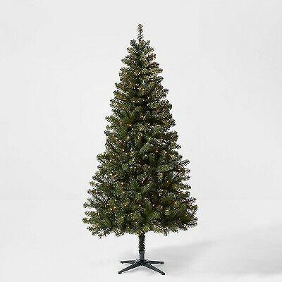 7ft Pre-lit Artificial Christmas Tree Alberta Spruce Clear Lights - Wondershop