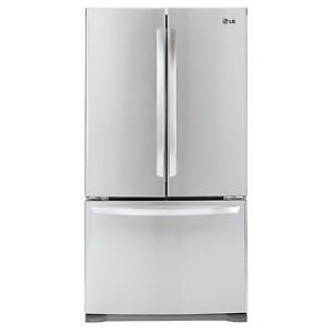 36-inch, 20.9 cu. ft. Counter-Depth French 3-Door Refrigerator with Smart Cooling System