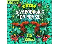 2x Sunday Elrow tickets SWG3 £30 each