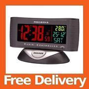 Radio Controlled Digital Alarm Clock