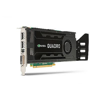 HP NVIDIA Quadro K4000 3GB GDDR5 Video Graphics Card 713381-001 700104-001