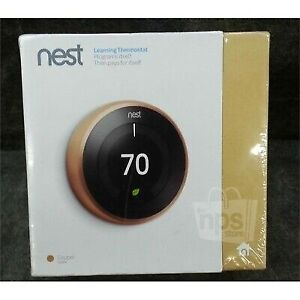 Brand new Sealed Nest Learning Smart Thermostat 3rd Gen Bronze
