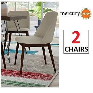 NEW 2 COASTER SIDE CHAIRS 105992 233359526 DINING CURTISS TAN CHESTNUT
