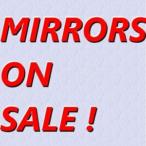 BEAUTIFUL QUALITY MIRRORS - CLEARANCE SALE ! GREAT CONDITION