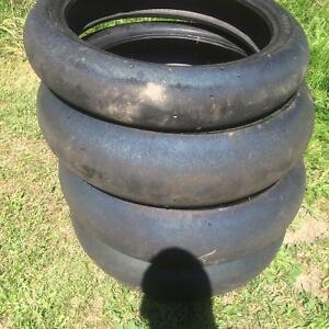 Motorcycle tires for sale(Dots and slicks)
