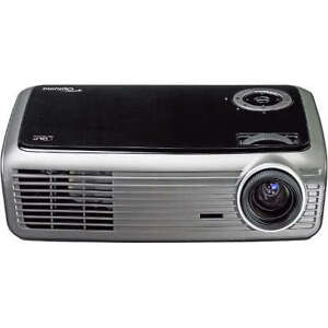 """Optoma EW1610 1080P DLP projector with 120"""" Screen"""