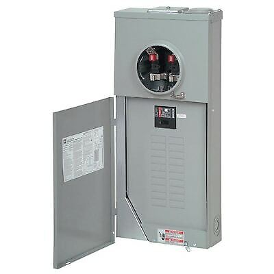 Eaton 200-amp Outdoor Main Breaker Panel Electrical Meter 40-circuit 20-space Ge