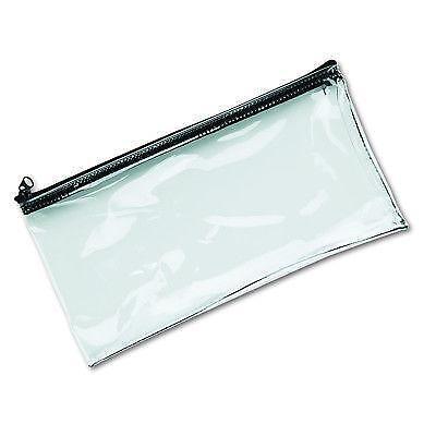 Clear Vinyl Zipper Bag Ebay