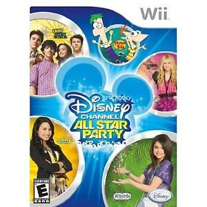 ► Nintendo Wii - Disney Channel - All Star Party