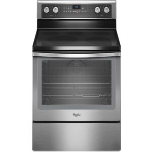 Cuisinière 30'' Convection Stainless WHIRLPOOL