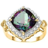 RING - ANOTHER MYSTIC TOPAZ, THIS TIME WITH A DIFFERENT LOOK
