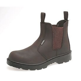 BRAND NEW DELTA PLUS DEALER SAFETY BOOTS BROWN AND BLACK ALL SIZES