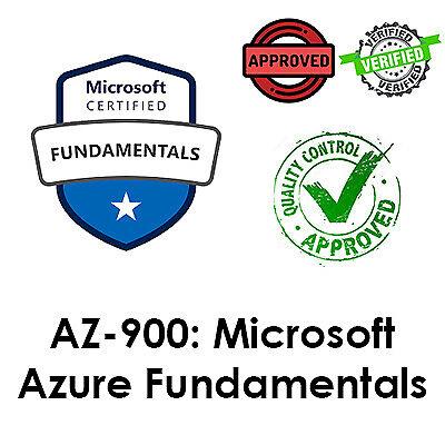 2021 Updated AZ-900, Microsoft Azure Fundamentals Exam, PDF File, Dump
