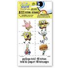 SpongeBob SquarePants Tattoos Party Favors & Bag Fillers