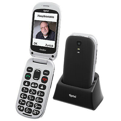 Tiptel Seniorenhandy Ergophone 6410 ++ baugleich zum Testsieger 2021 ++