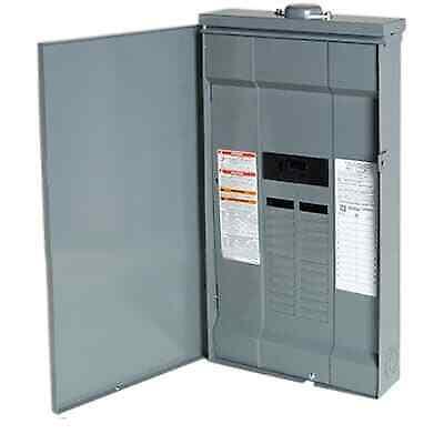Square D 100 Amp Load Center Main Breaker Outdoor Panel 24-Circuit 24-Space (Square D 100 Amp Outdoor Load Center)