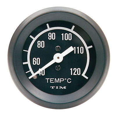 TIM Mechanical Water Temperature/Temp Gauge Capilliary Type 52mm