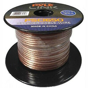 Pyle Link 50 ft. 16AWG Speaker Wire - 2 Conductor - PSC1650