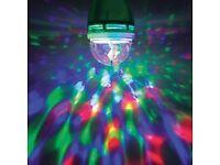 LED Party Bulb (1.5w) - Bayonnet. Colourful party bulb.